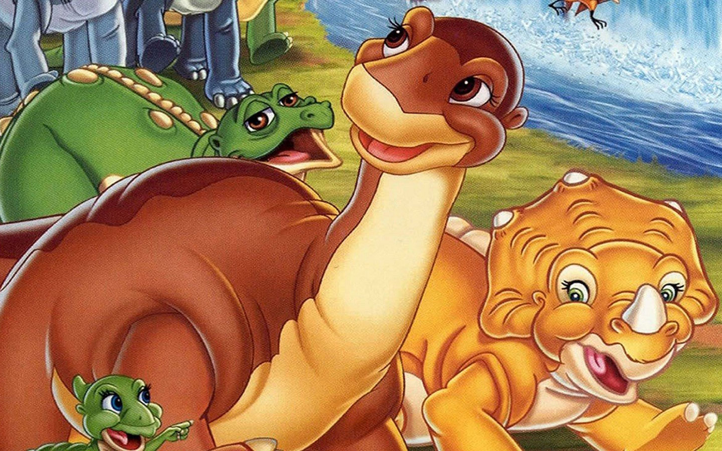 Dinosaurs in The Land Before Time